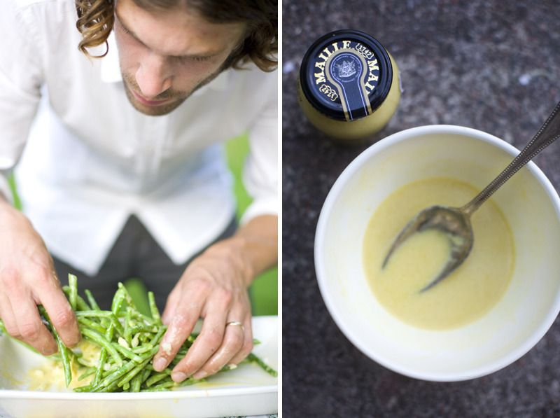 Green Bean Salad with Lemon Dijon Dressing by Green Kitchen Stories