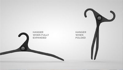 Cool Hangers cool coat hangers and modern clothes hanger designs (16) 12