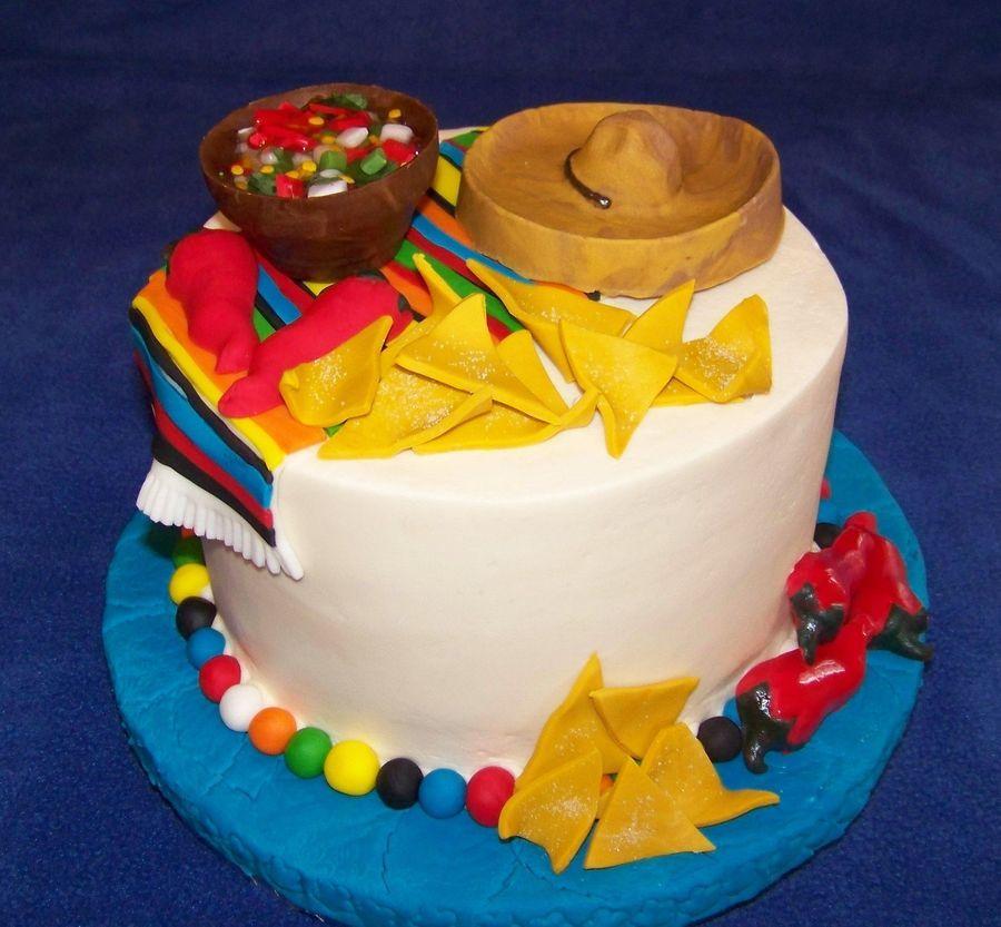 Pastel Celebración del Cinco de Mayo