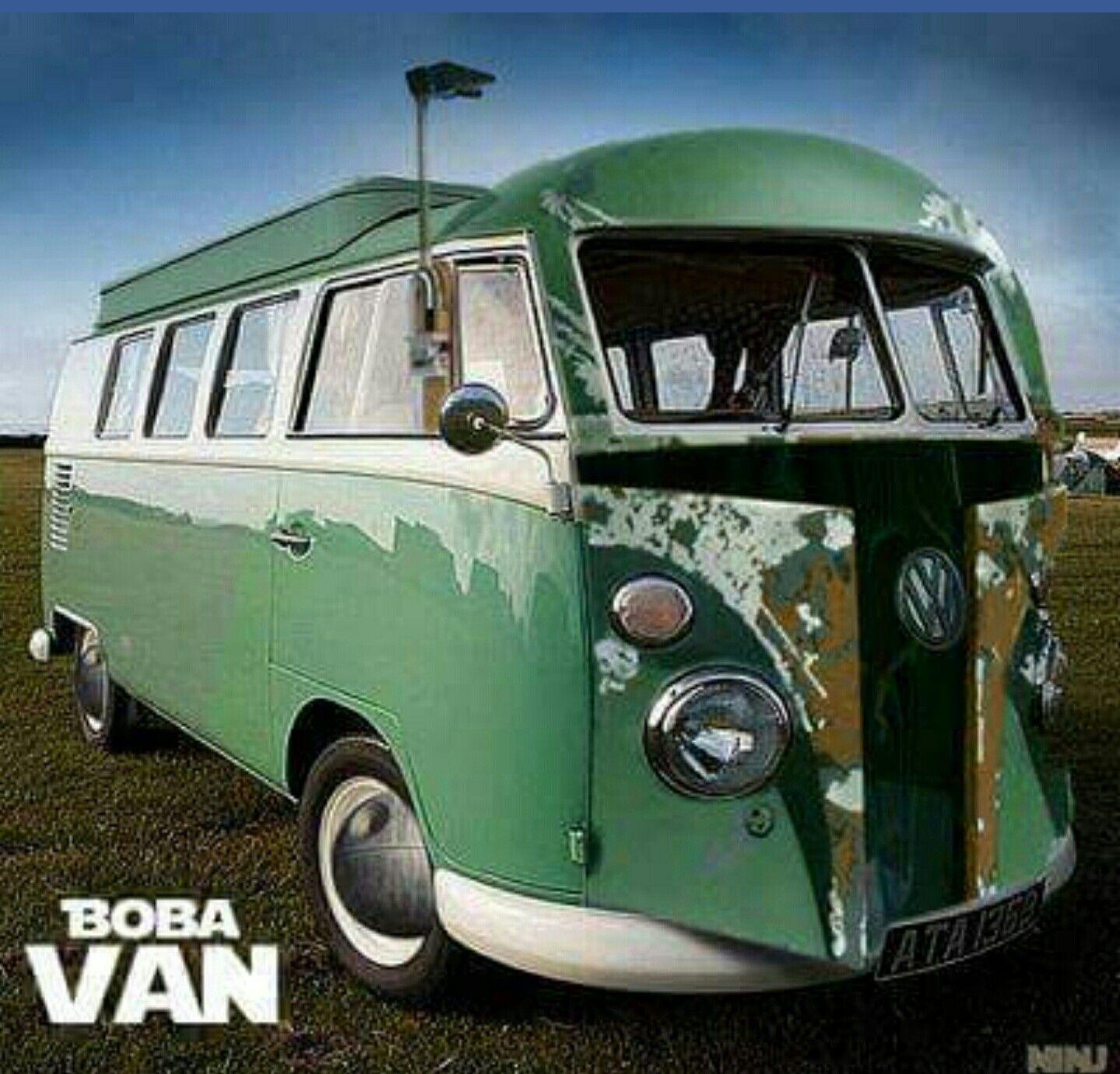 8206c785f19d5f Star Wars Boba Fett hippie van