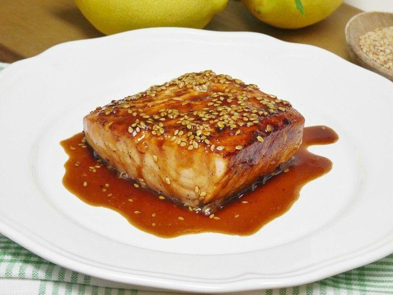 Salmón Con Salsa De Soja Miel Y Limón Mis Cosillas De Cocina Recetas Para Cocinar Salmon Recetas De Salmon Faciles Salsa Para Salmon