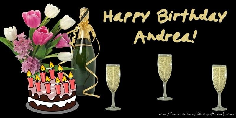Happy Birthday Andrea Greetings Cards For Birthday For With