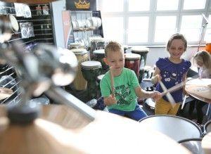 Schlagzeugunterricht für Kinder