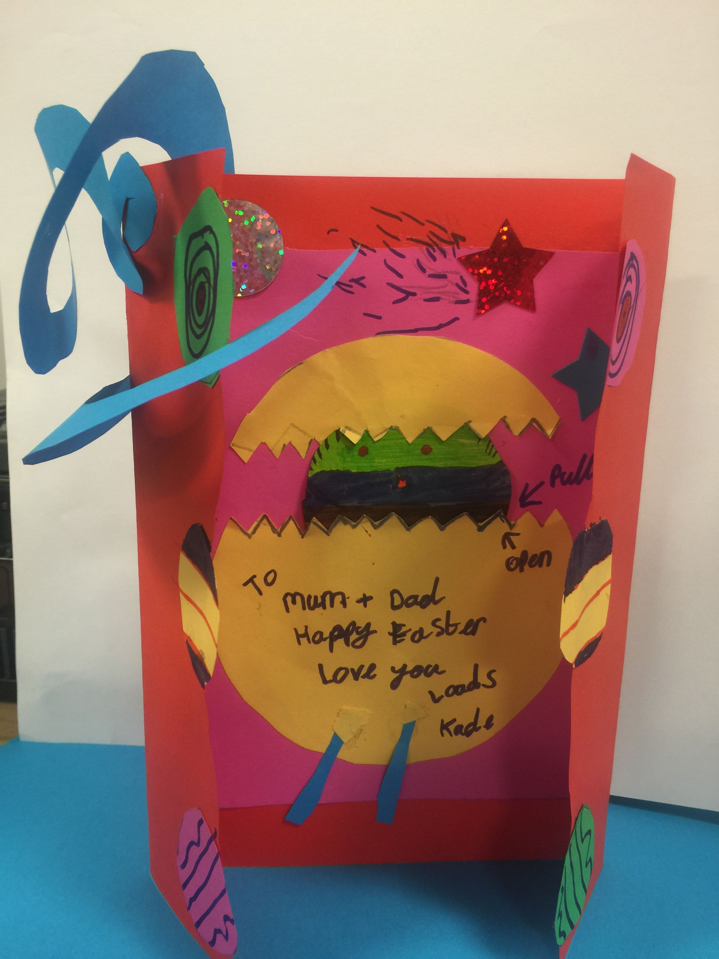 Gartreeadt Incredible Easter Card Ideas By Year 6 Ks2 Easter Cards The Incredibles Cards