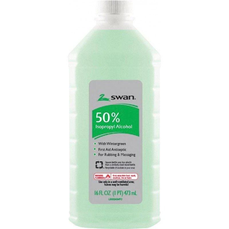 Swan 50 Wintergreen Isopropyl Alcohol 16 Fl Oz In 2020