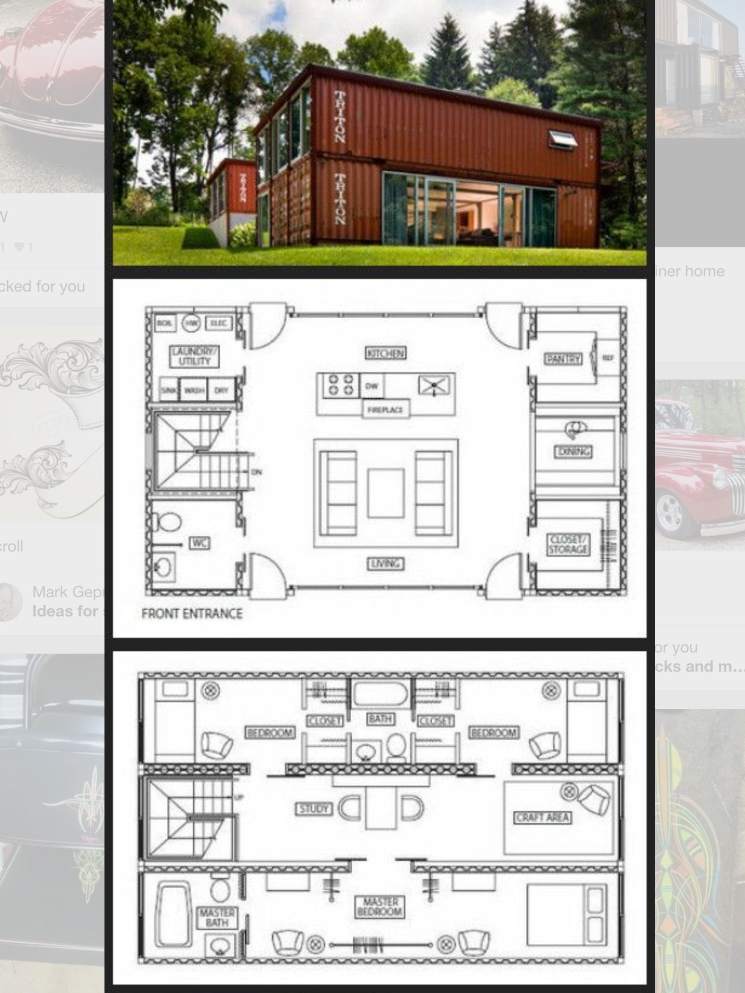Container home container home pinterest house tiny houses and ships - Maison container ...