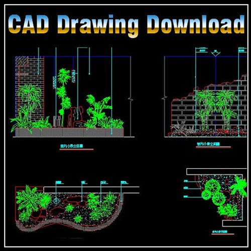 Landscape design 2d design free download