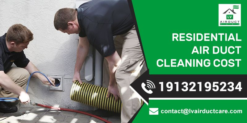 How much does residential air duct cleaning cost with