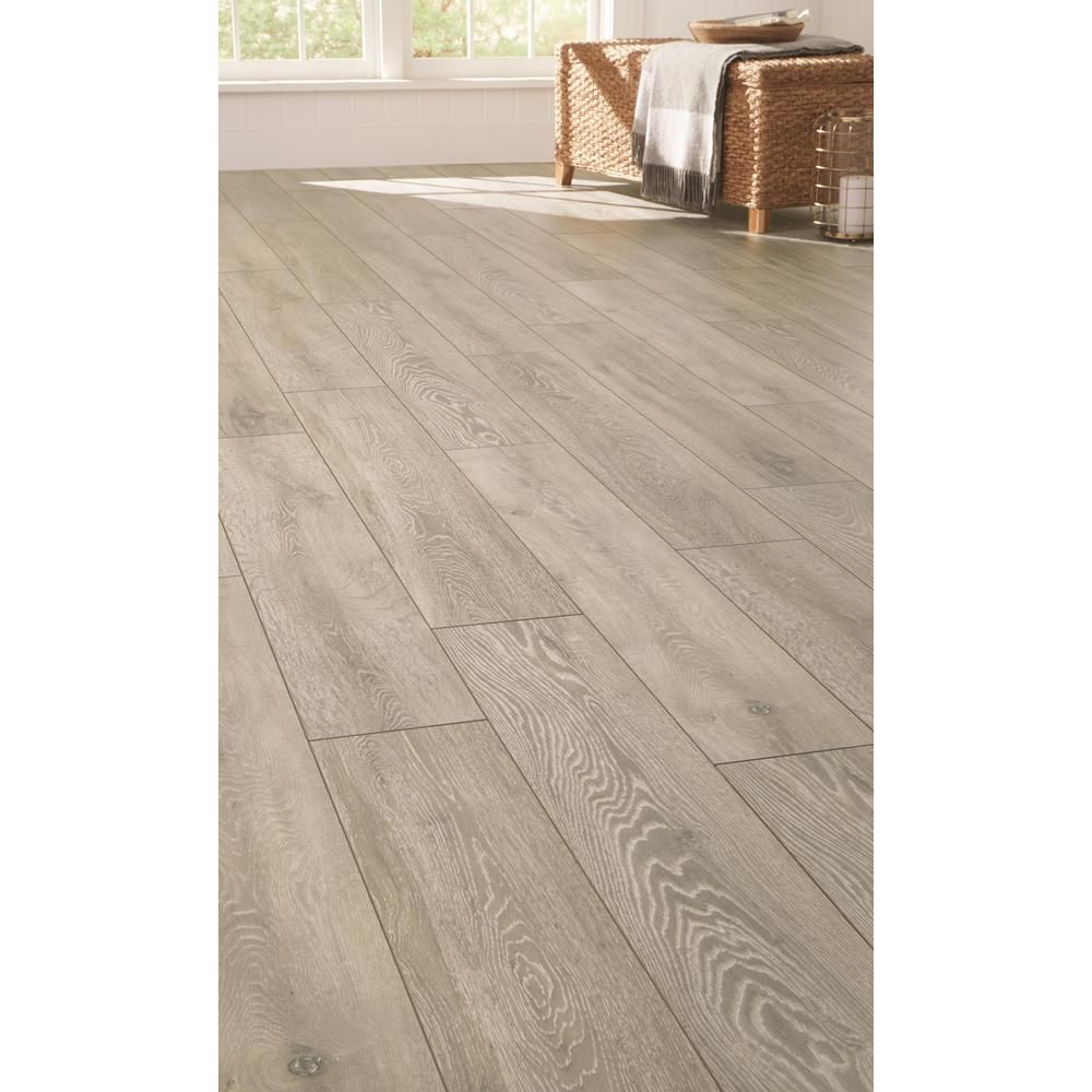 Home Decorators Collection Montgomery Oak 12mm Thick X 8 03 In Wide X 47 64 In Length Laminate Flooring Laminate Flooring Home Decorators Collection Laminate