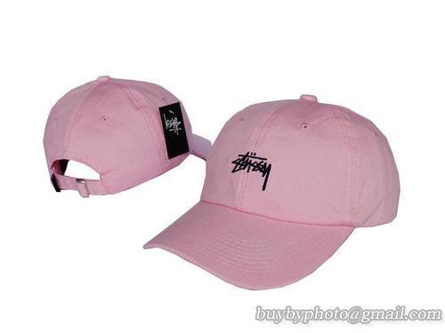 d11a39d0752 Stussy Baseball Caps Pink