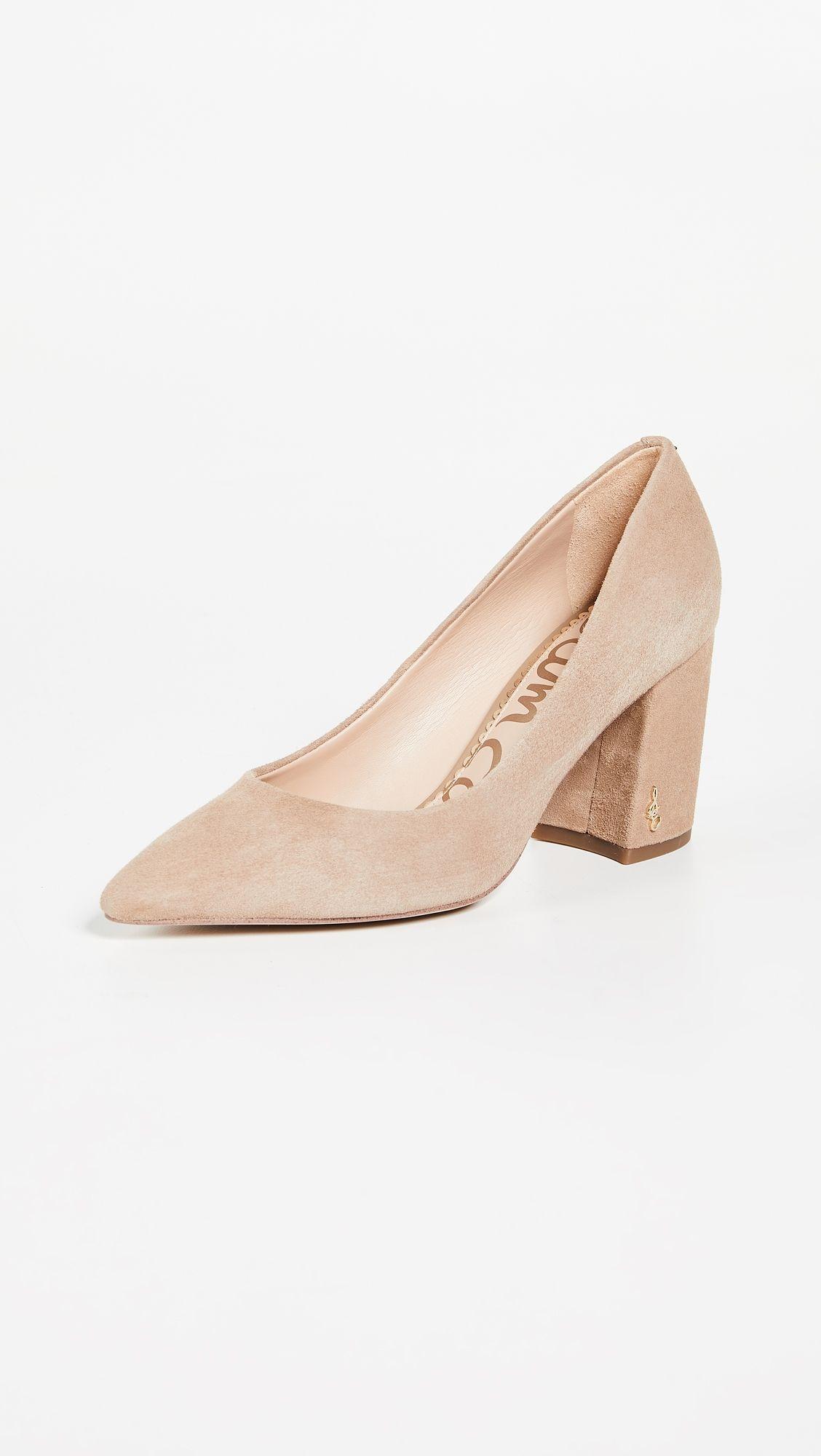 5dd3fe9aa0 Sam Edelman Tatiana Pumps in 2019 | Products | Pumps, Chunky heel ...