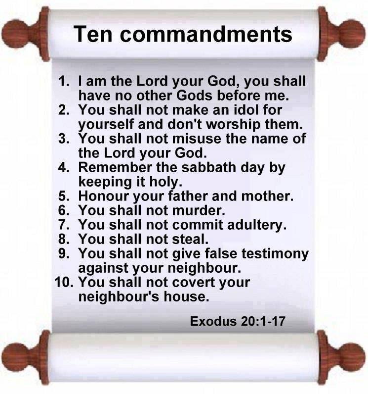 Ten Commandments Quotes: Ten Commandments