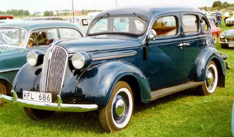 Plymouth De Luxe 4 Door Sedan Sedan 1937 Classic Cars Retro Cars Plymouth Cars