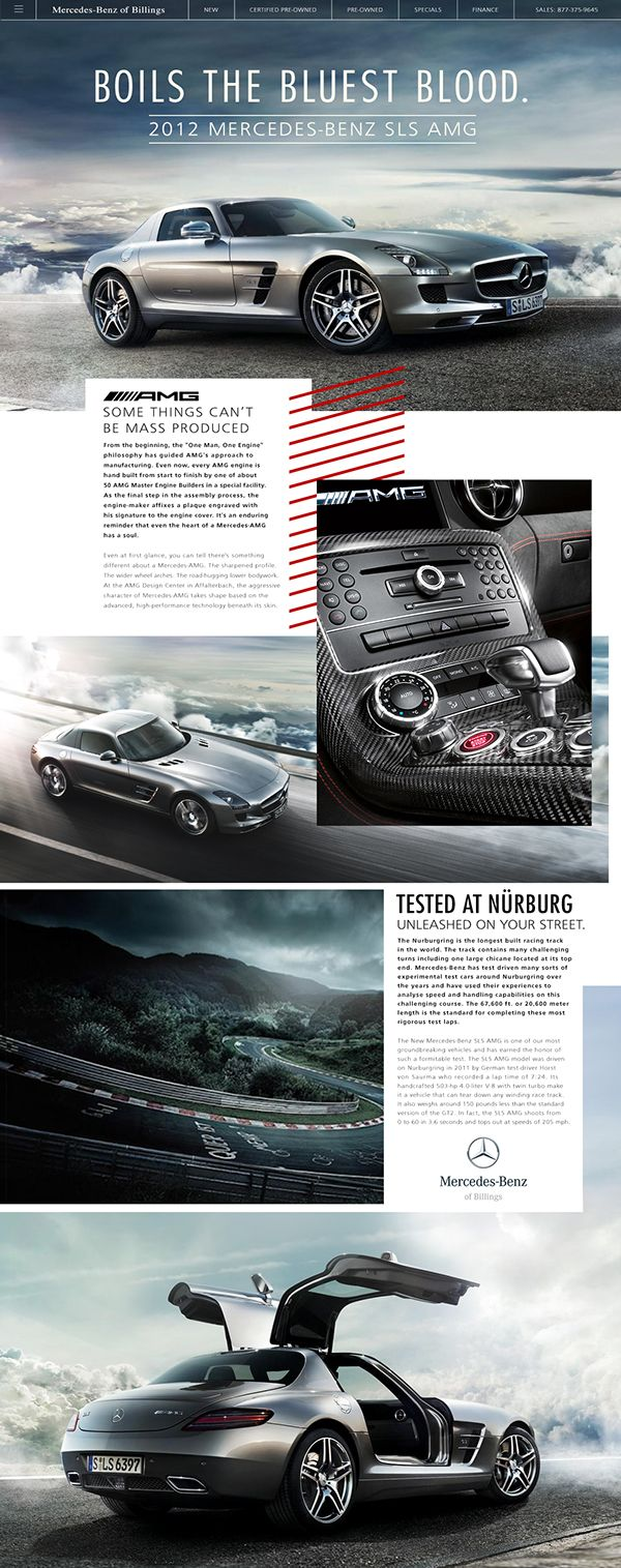 Mercedes-Benz of Billings on Behance