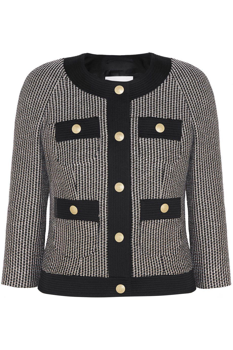 03da6fb5af PIERRE BALMAIN Cotton-blend tweed jacket. #pierrebalmain #cloth #jacket