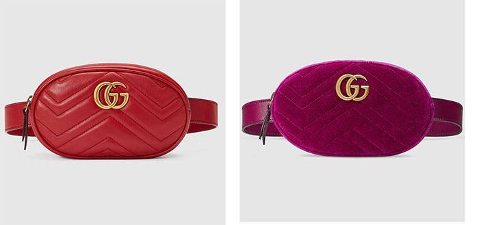 Prendas de la temporada  la riñonera luxury de Gucci  467a8bfe6bb