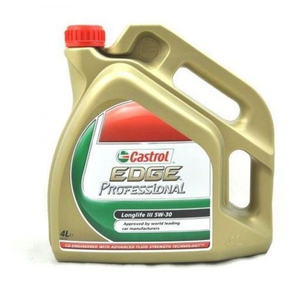 Tepalas Castrol Edge 5w30 Professional Ll Iii 4l Oils Edges Engineering