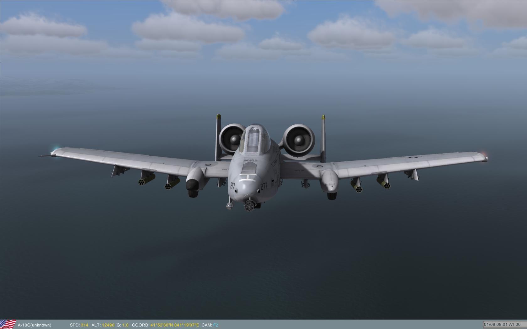 DCS A-10C Warthog Combat Flight Simulator Review for PC   Flight sim