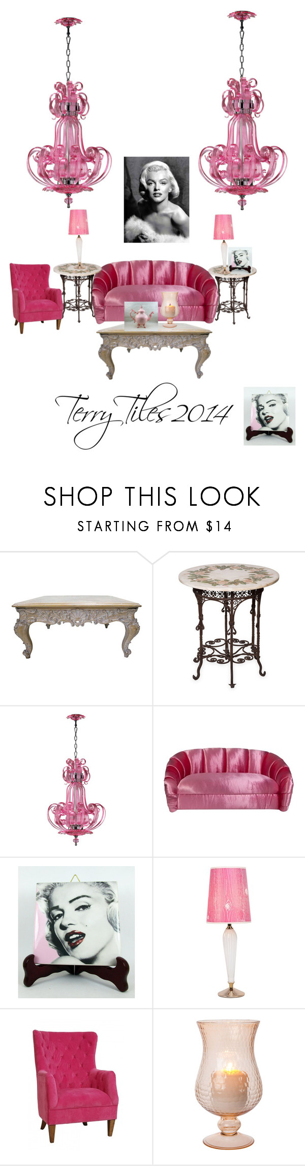 """""""TerryTiles2014"""" by bamagirl0320 ❤ liked on Polyvore featuring Lights Up!, Sasson Home and Cultural Intrigue"""