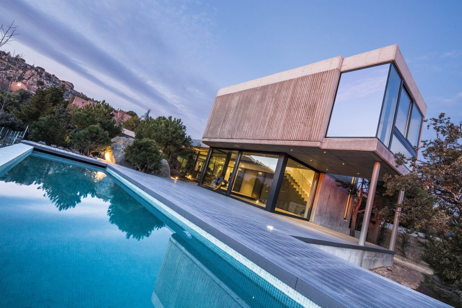 Rock 39 s house u3 estudio de arquitectura madrid for Estudios de arquitectura en madrid