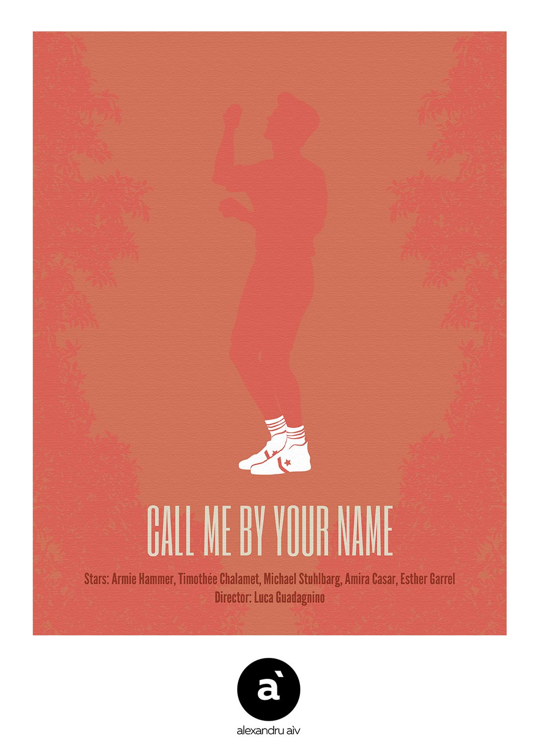 Call Me By Your Name 2017 Minimal Film Poster Pinterest Film