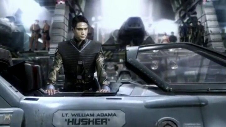 Husher Battlestar Galactica Sci Fi Tv Movie Trailers
