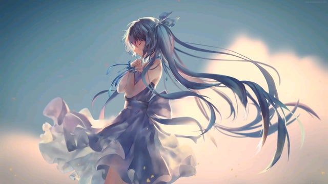 Reddit - AnimeWallpaperGif - Pretty Miku Making A Wish [1920×1080]