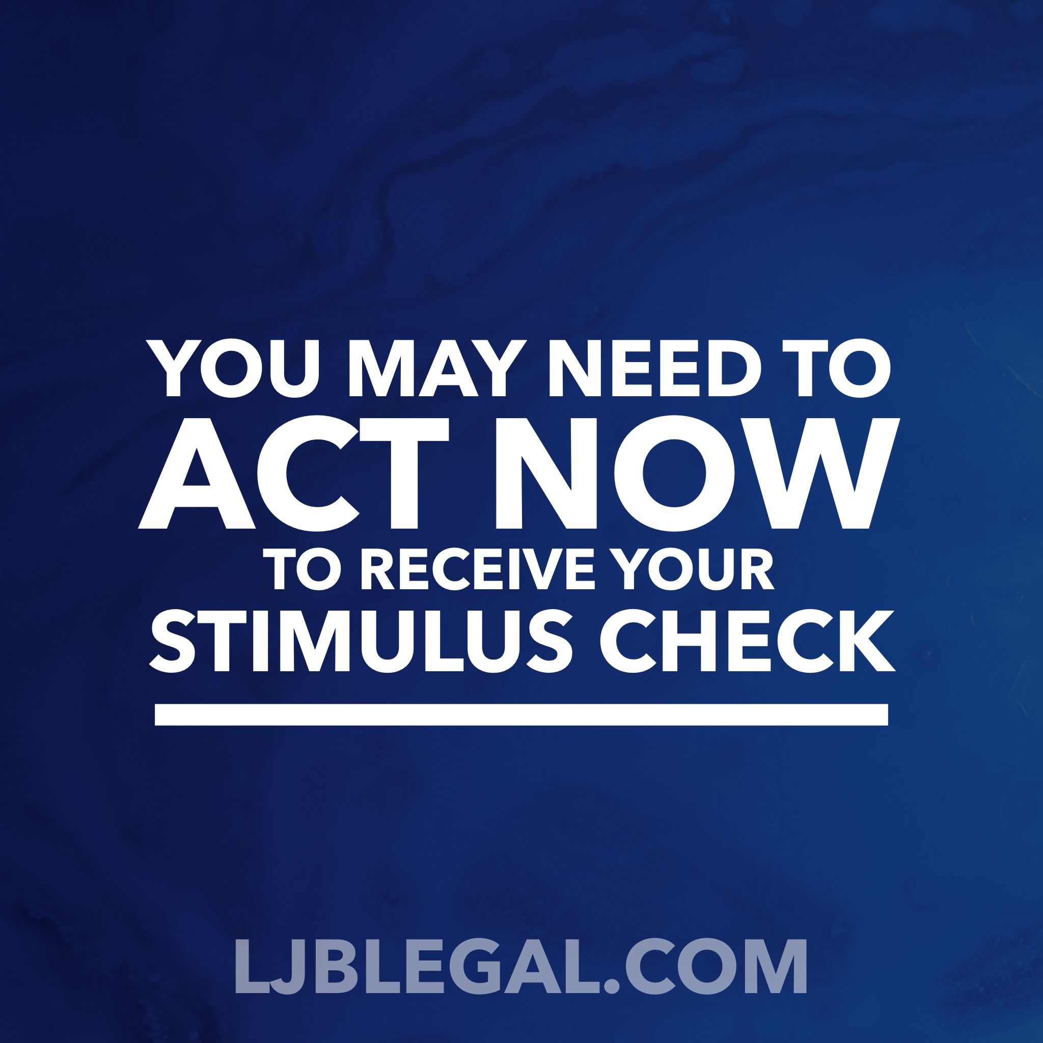 You May Need to Register to Receive Your Stimulus Check