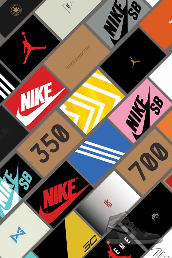 Sneaker Box Wall Art Poster 24x36 Image 0 Basketball Basketball En 2020 Fond D Ecran Telephone Fond D Ecran Colore Fond D Ecran Pour Android
