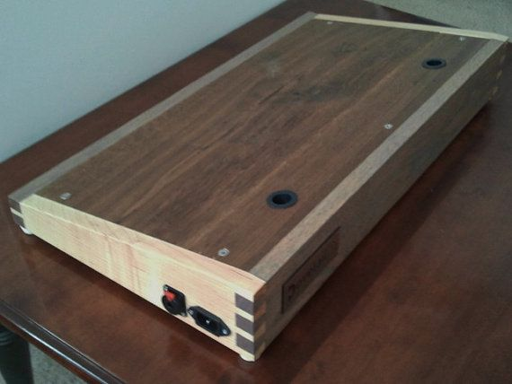 pedalboard 13 x 24 pedal board by dovetailpedalboards on etsy guitars and basses. Black Bedroom Furniture Sets. Home Design Ideas