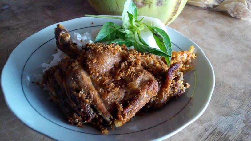 Nasi Bebek Sinjay Madura Daging