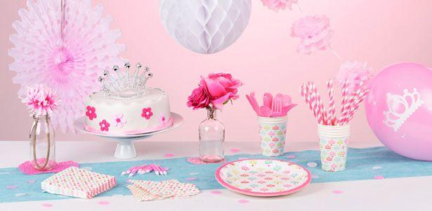 Addobbi e decorazioni per feste a tema principesse su for Decorazioni compleanno bimba
