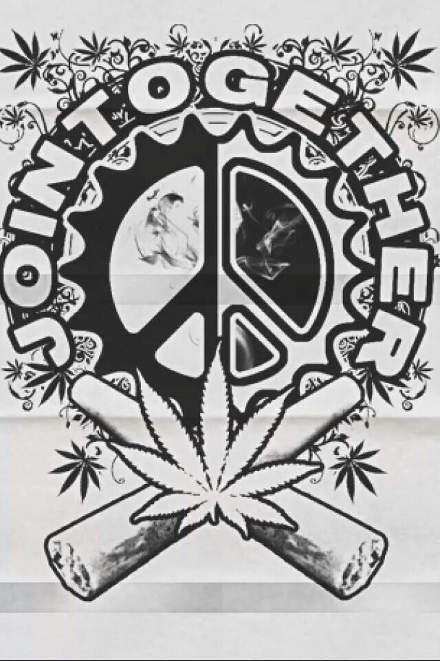 american hippie weed quotes joint together - Cannabis Coloring Book