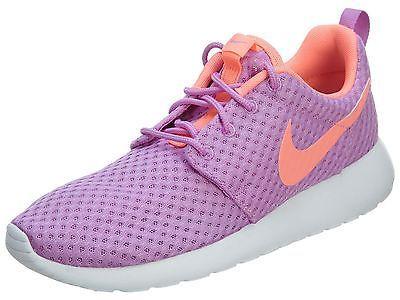 bde88729acb6 Nike Roshe One Br Womens 724850-581 Fuchsia Lava Glow Running Shoes Size 8