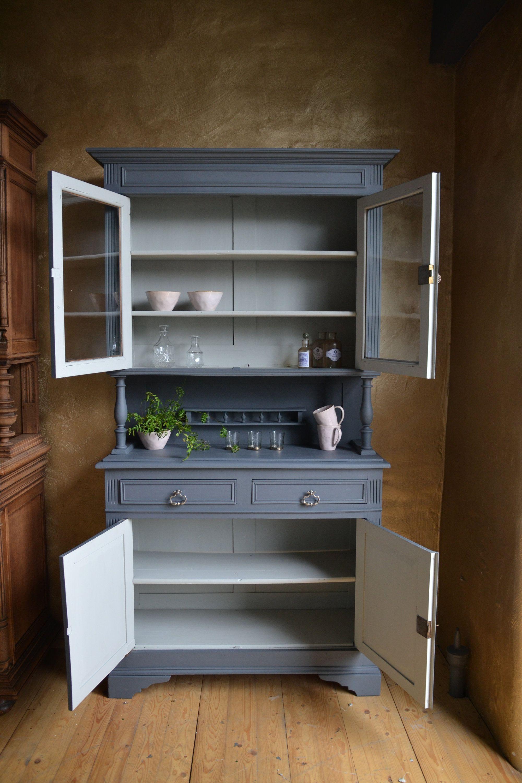Vintage Kuchen Buffet Adrian Liebevoll Restauriert Etsy Kitchen Cabinets Kitchen Decor