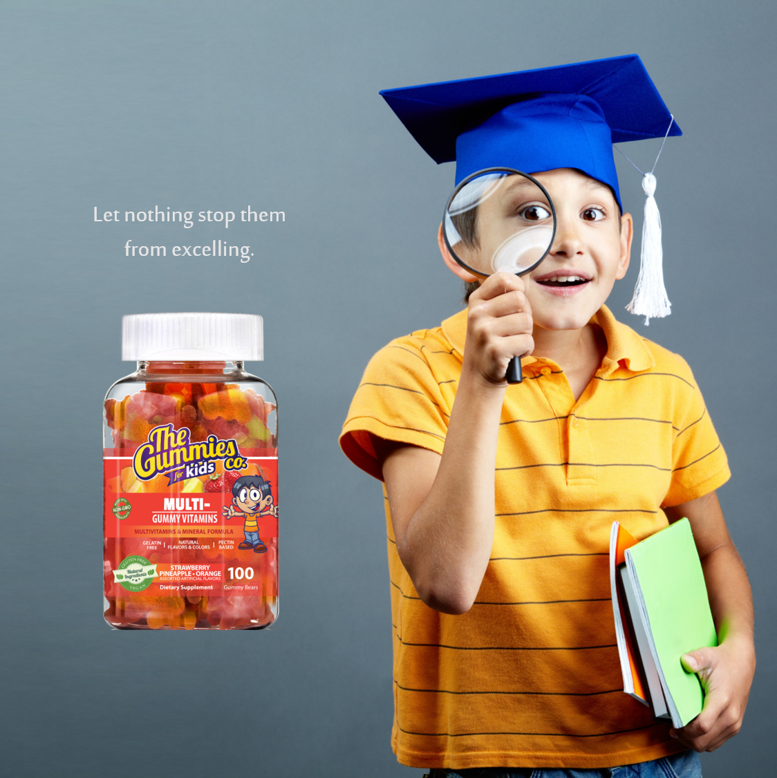 The Gummies Co Multivitamins For Kids Helps Improve Absorption Of Daily Nutrients For Optimum Health And Also Acts As Vitamins For Kids Gummy Vitamins Gummies