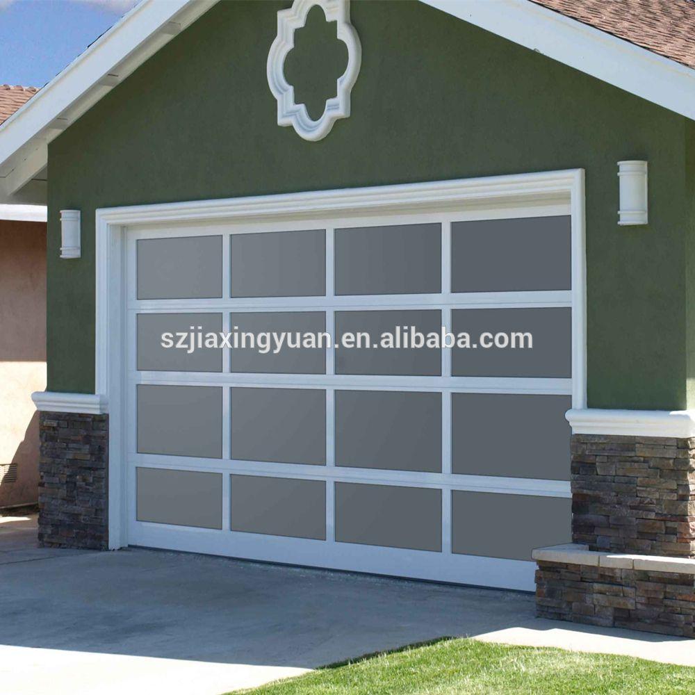 Source Good Quality Aluminum Frame Glass Overhead Garage Door Prices On M Alibaba Com Glass Garage Door Garage Doors Overhead Garage Door