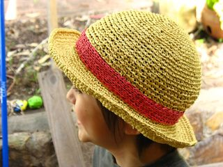 Miyayo S Luffy S Straw Hat Straw Hat Diy Crochet Hats Hats