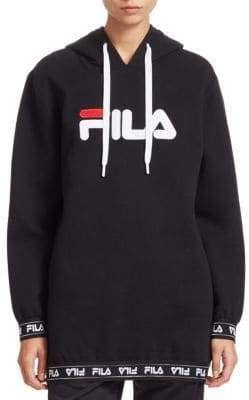 2c38d56c2d25 Fila Karena Logo Fleece Hoodie | Products | Fleece hoodie, Hoodies ...