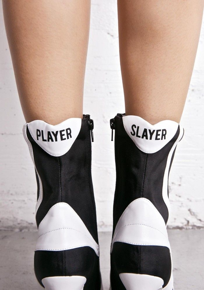 Design + Product Development + Production for Dolls Kill --Current Mood Player Slayer Boots