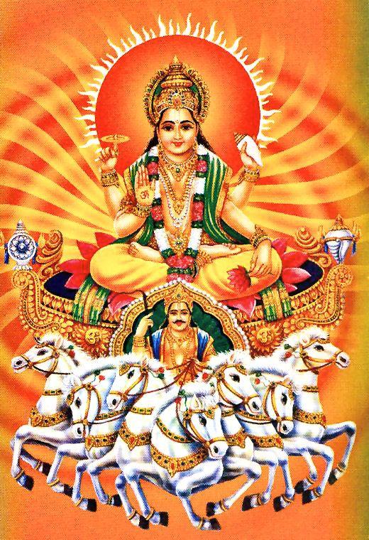 Lord Surya Is The Hindu Sun God Hindu Gods Lord Shiva Pics Hindu Deities
