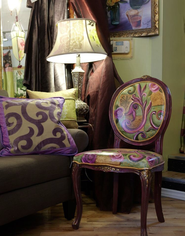 Pin By Carolyn Malin On Plum Olive Decor Whimsical Furniture Furniture Makeover Diy Living room queen anne furniture
