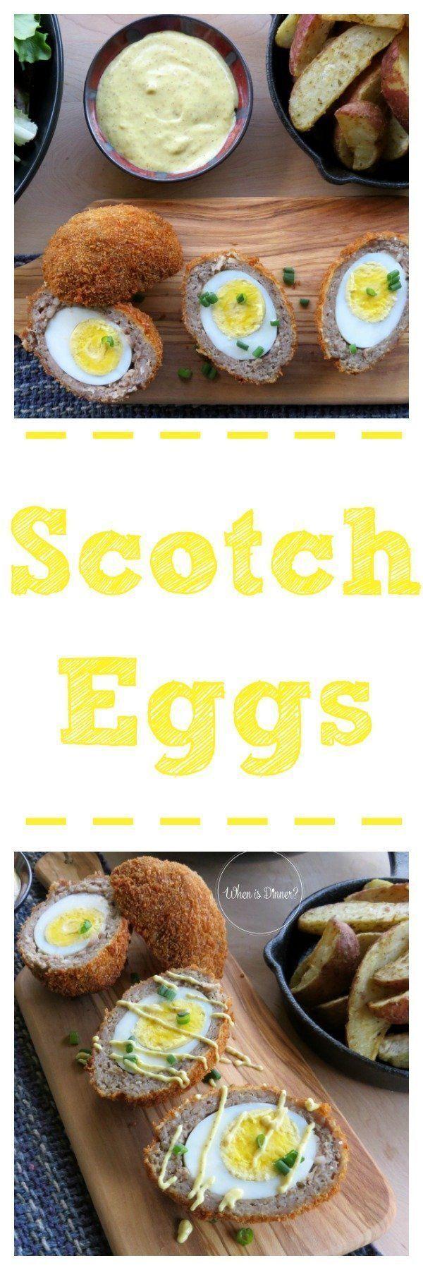 Scotch Eggs #scotcheggs Scotch Eggs #ScotchEggs #EggRecipes #scotcheggs