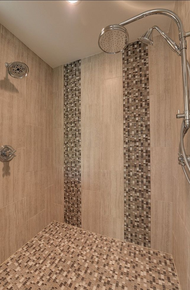 inspiration for use of vertical accent tiles to mirror rain fall