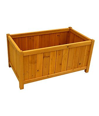 Leisure Season Rectangular Planter Box The Home Depot Canada