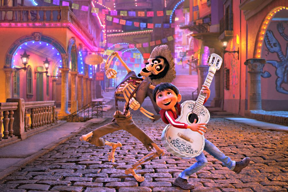 Coco Pixar's New Day of the Dead Animated Film, a Parent