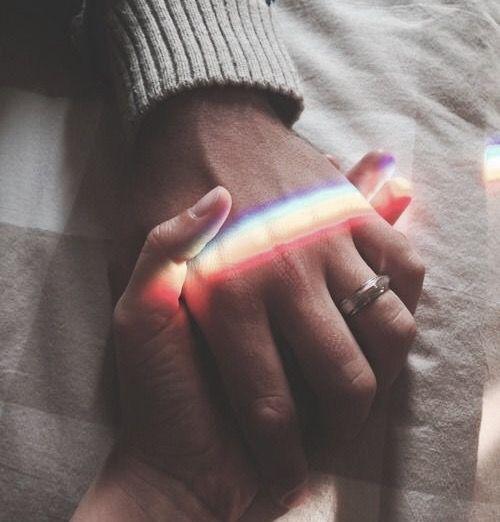 Anime Holding Hands Wedding Rings