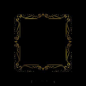 四角四角飾り枠 ベクター フレーム ゴールド画像とpsd素材ファイルの無料ダウンロード Pngtree フレームデザイン 桜 フレーム 花 背景