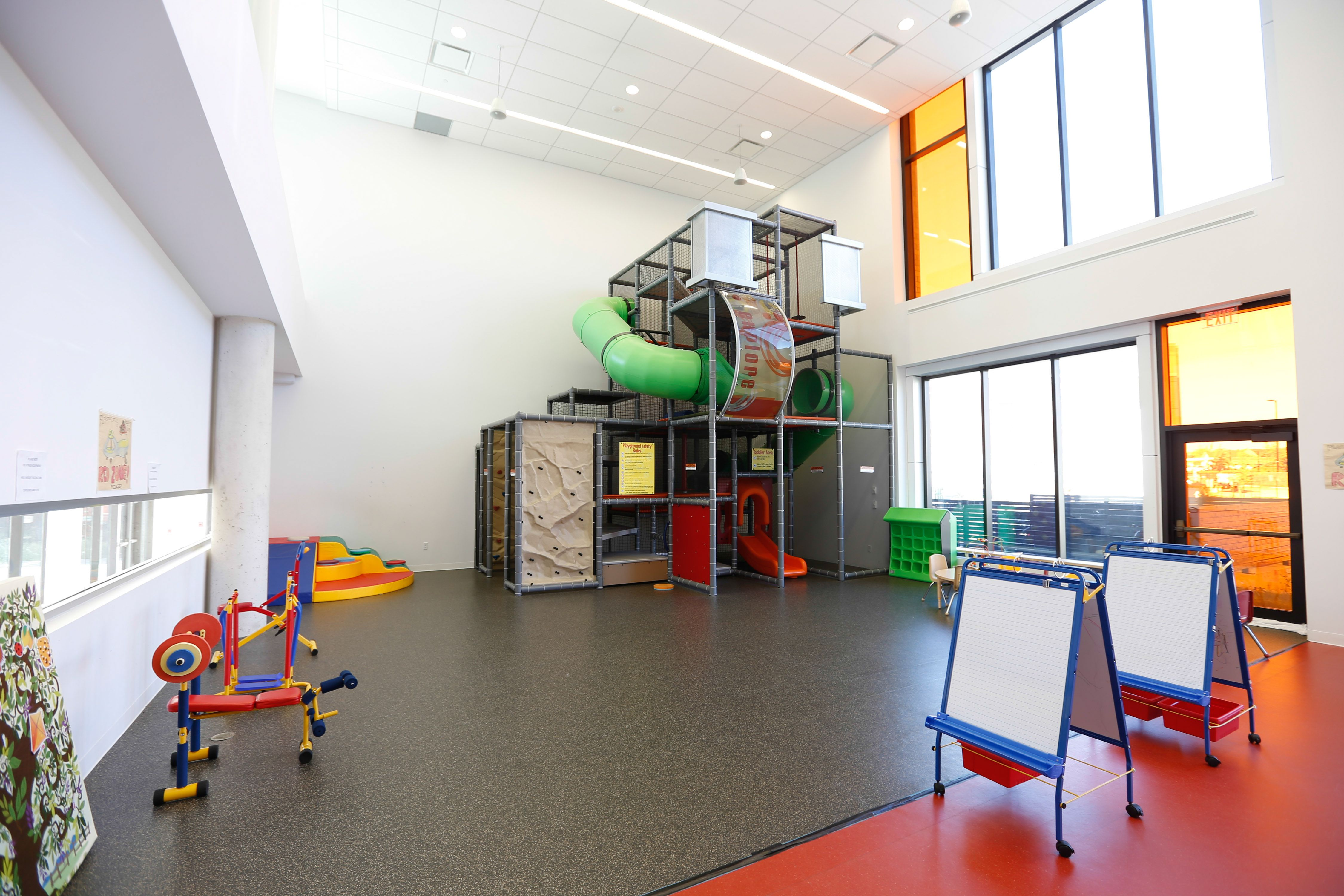 Keep your kids active all winter long in the indoor