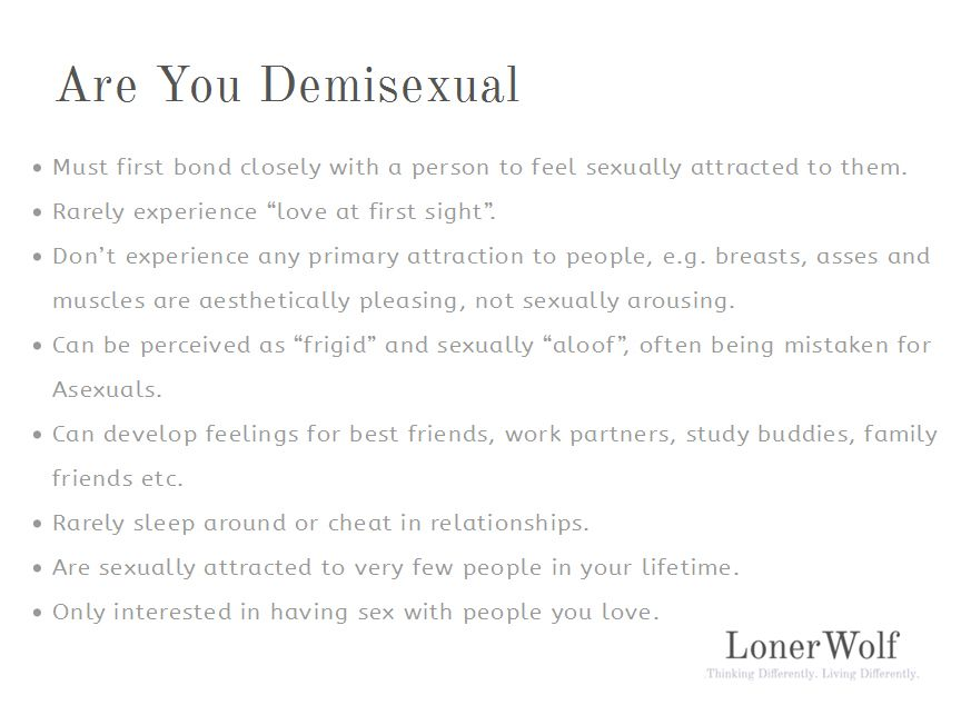 Primary sexual attraction test